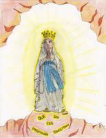 Que Soy Era Immaculada Conceptiou by Bleinz