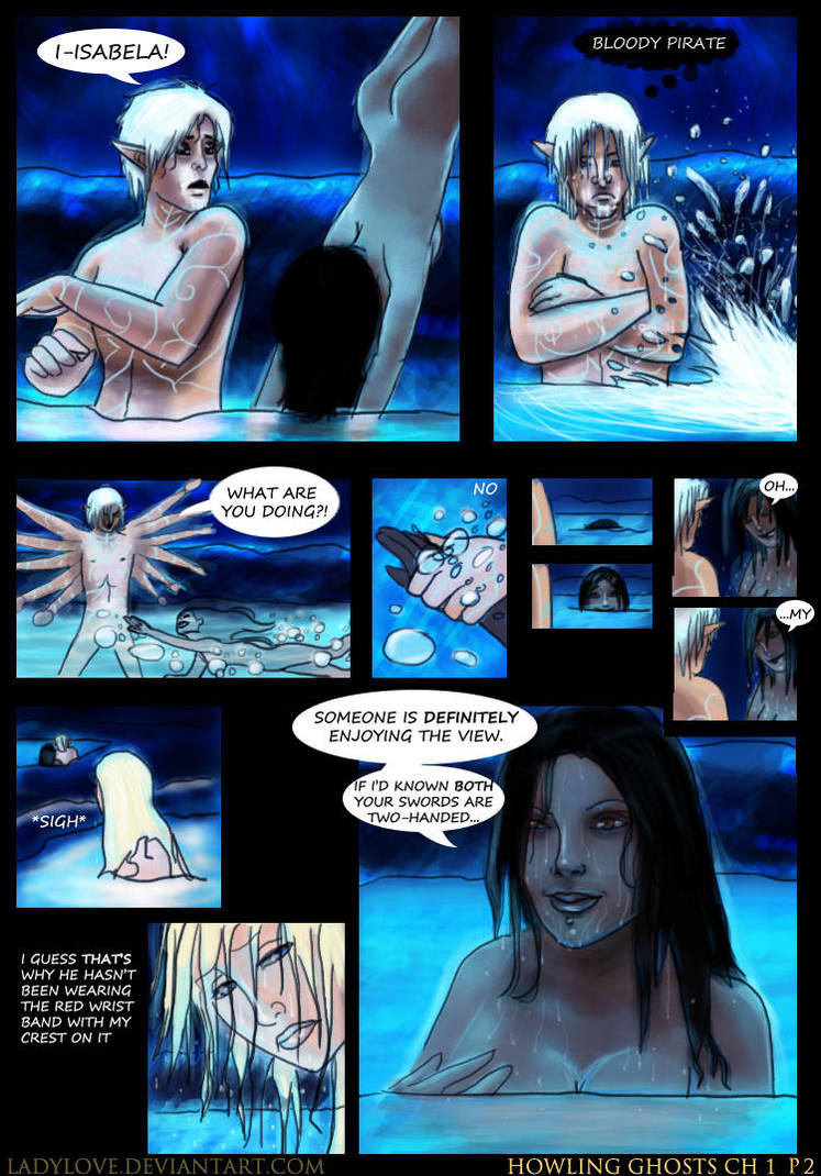 Howling Ghosts Ch1P2 by ladylove