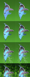 Dolphin - Step by step by lapis-lazuri