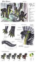 Chromatic Black Dragon by lapis-lazuri
