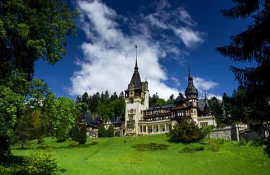 Fantasy Castle 2 by lapis-lazuri