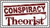 Conspiracy Theorist stamp by lapis-lazuri