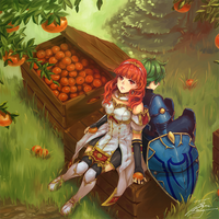 Oranges of Valentia by fadingz