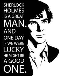 Sherlock Holmes by Mad42Sam