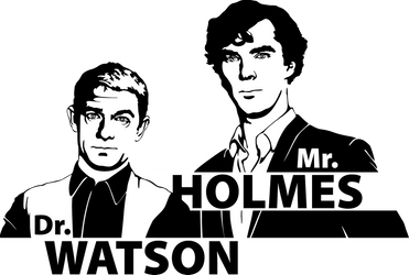 Mr. Holmes And Dr. Watson by Mad42Sam