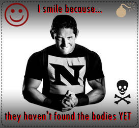 Wade Barrett smile because by mistofstars