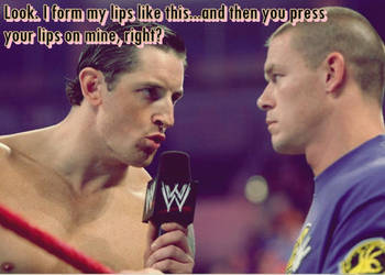 Barrett Cena Slash Lips by mistofstars