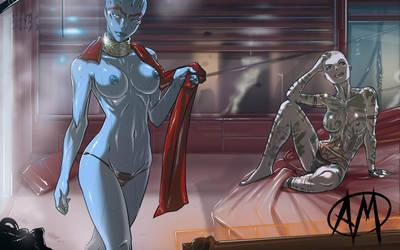 Mass Effect 'After Party' 01 by Ganassa