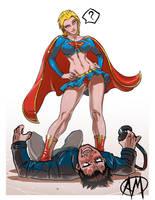 Supergirl Exposed SFW by Ganassa