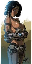 Gears of War: Samantha Byrne by Ganassa