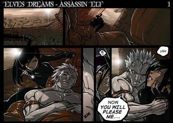 Assassin Elf - Page 1 promo by Ganassa