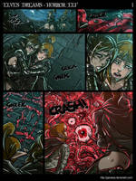 Elves Dreams Donor Commission - Horror Elf Page 1 by Ganassa