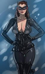 Dark Knight Rise's Catwoman by Ganassa