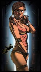 Dead Space 3's Ellie Langford in trouble by Ganassa