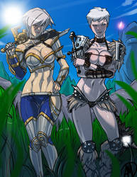 Riven and Sejuani - Look what we have found... by Ganassa