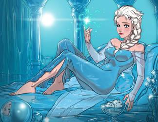 Queen Elsa from Frozen - fixed by Ganassa