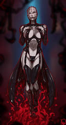 Hellraiser Female Pinhead commission by Ganassa