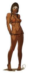 Opia Apito bikini ver. commission by Ganassa