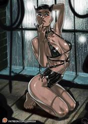Patreon public post Injustice 2 Catwoman by Ganassa