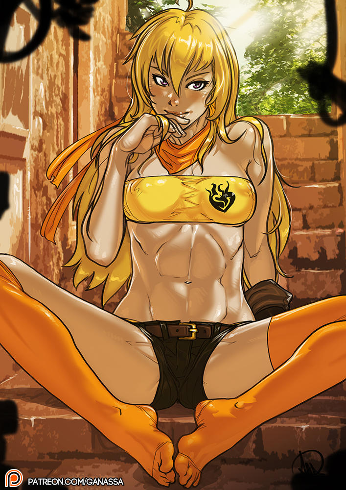 RWBY Yang Xiao Long patreon public post by Ganassa