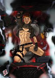 Battletech Natasha Kerensky the Black Widow by Ganassa