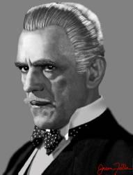 Boris Karloff by Matsuemon
