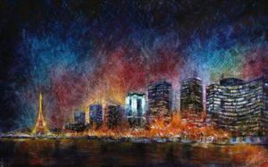 City lights (02) by artMARUSIK