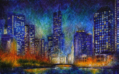 City lights (03) by artMARUSIK