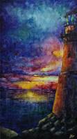 Keeping silence: lighthouse by artMARUSIK