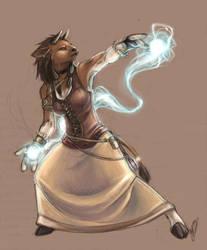 World of Warcraft - Shaman by binkari