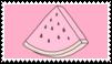 watermelon stamp by goredoq