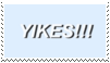 yikes!!! stamp by goredoq