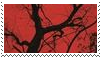 red aesthetic stamp by goredoq