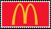 mcdonalds stamp by goredoq