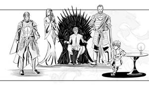 The Lannisters by patoftherick
