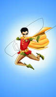 Robin the Boy Wonder by patoftherick