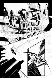 Batman Beyond 1 page comic by patoftherick