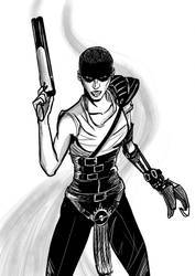Imperator Furiosa - Mad Max Fury Road by patoftherick