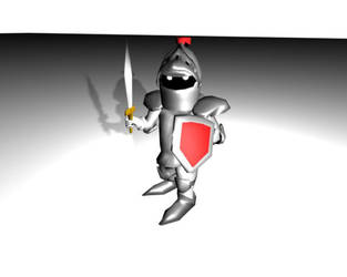 3d Mini Knight by WyRd666