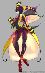 Queen Bee.1 by Mymy-TaDa