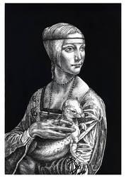 Lady With An Ermine by nellmckellar