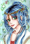 Chinese Girl 2 by Baranamtara