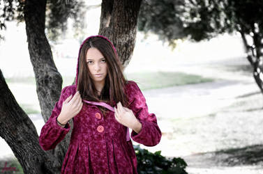 Purple Riding Hood by dancingelf