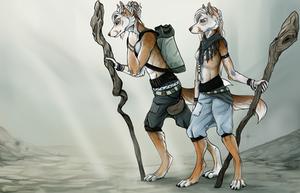 The Twins by Dakikr