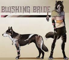 Blushing Bride Ref Sheet by Dakikr