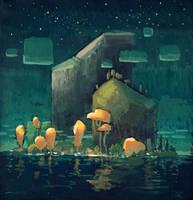 Strange Island by angrymikko