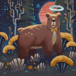 Mr. Bear Night Look Eleganza by angrymikko