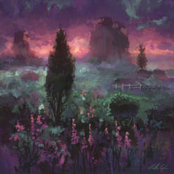 Velvet Field by angrymikko