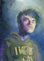 -Self Portrait- by angrymikko