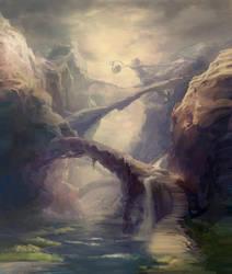 Rock Bridges by angrymikko